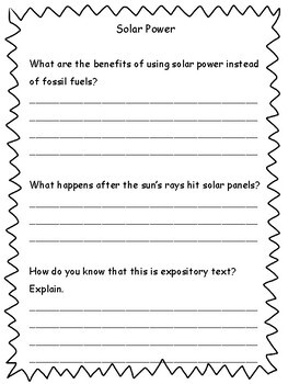 3rd Grade Reading Passages and Comprehension Printables