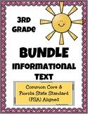 3rd Grade FSA Informational Text BUNDLE