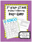3rd Grade Reading STAAR Bingo Vocabulary Game
