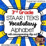 3rd Grade Reading STAAR | TEKS Vocabulary Alphabet