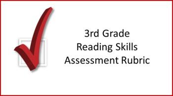 3rd Grade Reading Skills Assessment Rubric