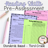 3rd Grade Reading Skills Pre-Assessments