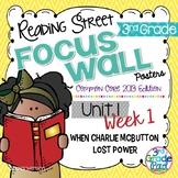 Reading Street 3rd Grade 2013 Focus Wall Posters Unit 1 Week 1