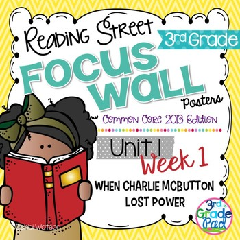 Reading Street 3rd Grade 2013 Focus Wall Posters Unit 1 Week 1