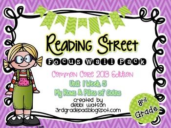 Reading Street 3rd Grade 2013 Focus Wall Posters Unit 1 Week 5
