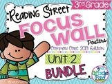 Reading Street 3rd Grade  2013 Focus Wall Posters Unit 2 BUNDLE