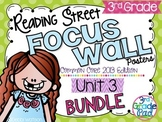 Reading Street 3rd Grade  2013 Focus Wall Posters Unit 3 BUNDLE