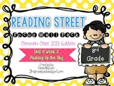 Reading Street 3rd Grade 2013 Focus Wall Posters Unit 3 Wk 2 Pushing Up the Sky