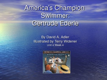 3rd Grade Reading Street America's Champion Swimmer Vocab
