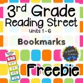 3rd Grade Reading Street | Bookmarks | FREEBIE