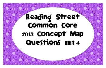 Reading Street Common Core 2013-Concept Map Questions-Grad