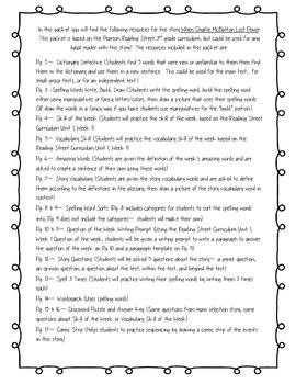 3rd Grade Reading Street Curriculum All Unit Packets