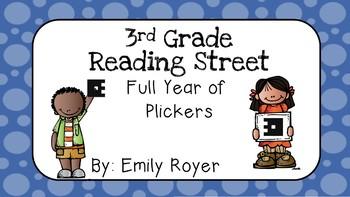 3rd Grade Reading Street-Full Year of Plickers