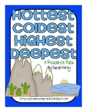 Hottest, Coldest, Highest, Deepest Resource Pack