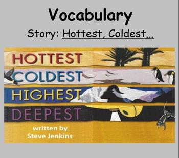 3rd Grade, Reading Street, Hottest, Coldest... Vocab SmartBoard Presentation
