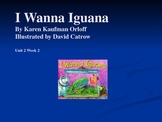 3rd Grade Reading Street I Wanna Iguana Vocab Power Point