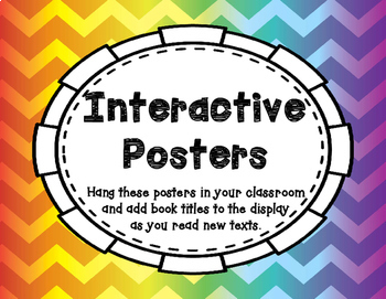 3rd Grade Reading Street - Interactive Genre Posters