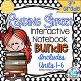 3rd Grade Reading Street Interactive Notebook BUNDLE Unit 1-6