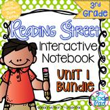 3rd Grade Reading Street Interactive Notebook Unit 1: Comm