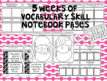 Reading Street 3rd Grade Interactive Notebook Unit 1: Common Core 2012