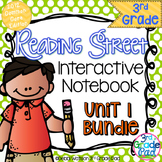 Reading Street 3rd Grade Interactive Notebook Unit 1: Comm