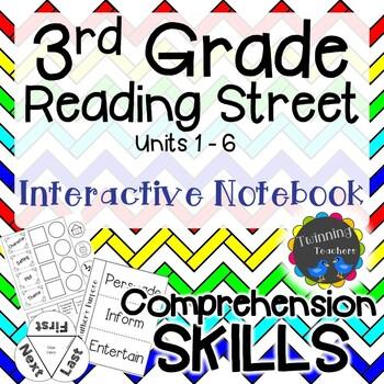 3rd Grade Reading Street Interactive Notebook - Comprehension Skills
