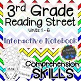 3rd Grade Reading Street   Interactive Notebook   Comprehe