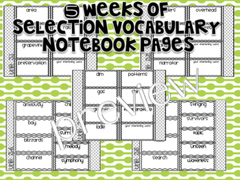 Reading Street 3rd Grade Interactive Notebook Unit 3