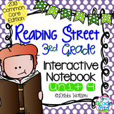 Reading Street 3rd Grade Interactive Notebook Unit 4