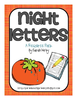 Night Letters Resource Pack