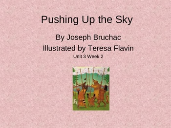 3rd Grade Reading Street Pushing Up the Sky Vocab Power Point