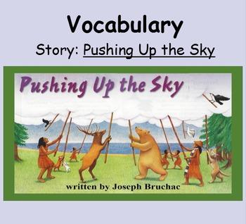 3rd Grade, Reading Street, Pushing Up the Sky Vocabulary SmartBoard Presentation