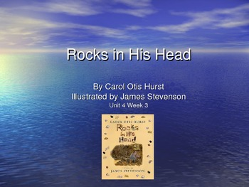 3rd Grade Reading Street Rocks in His Head Vocab Power Point