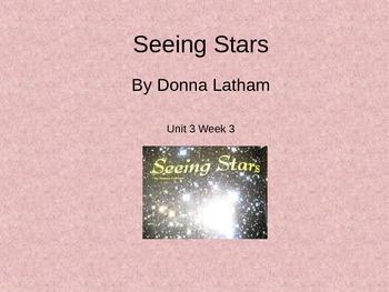 3rd Grade Reading Street Seeing Stars Vocab Power Point