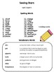3rd Grade Reading Street Spelling & Vocab Lists, All Units (1-6)