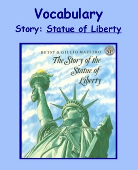 3rd Grade, Reading Street, Statue of Liberty Vocabulary SmartBoard Presentation