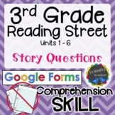 3rd Grade Reading Street   Story Questions   Google Forms