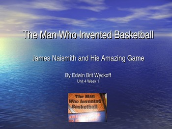 3rd Grade Reading Street The Man Who Invented Basketball Vocab Power Point