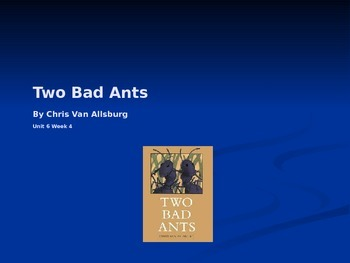 3rd Grade Reading Street Two Bad Ants Vocab Power Point