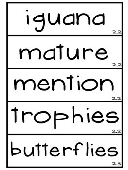 3rd Grade Reading Street Unit 2 Vocabulary Word Wall Cards