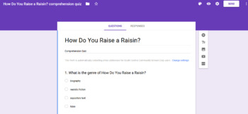 3rd Grade Reading Street Unit 3 Comprehension Assessments with Google Forms