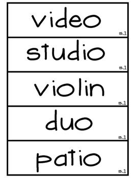 3rd Grade Reading Street Unit 5 Spelling Word Wall Cards