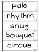 3rd Grade Reading Street Unit 5 Vocabulary Word Wall Cards