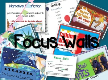 3rd Grade Reading Street Unit 6 Bundle: Focus Walls/ Brochures/ Study Guides