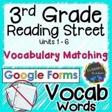 3rd Grade Reading Street   Vocabulary Matching   Google Fo