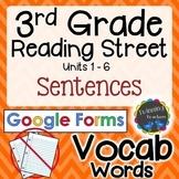 3rd Grade Reading Street   Vocabulary Sentences   Google F