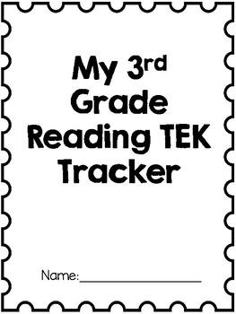 3rd Grade Reading TEK Tracker