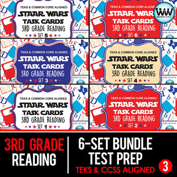 3rd Grade Reading - TEST PREP SURVIVAL MEGA BUNDLE