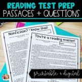 3rd Grade Reading Test Prep