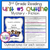 3rd Grade-Reading Unit #5 Mystery Outline